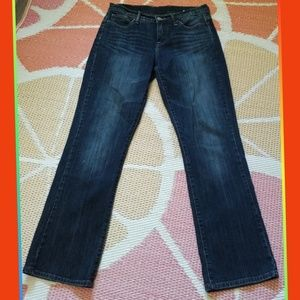 LUCKY BRAND EASY RIDER 6/28 DENIM JEANS BOOTCUT